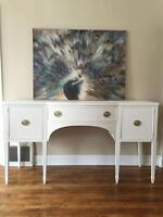 Cottage White Sideboard-open to reasonable offers