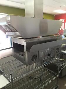 Holman Conveyor Oven QT14 with Vent Hood