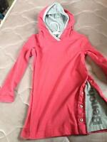 BENCH PINK DRESS WITH HOOD SIZE 3 WORN TWICE $ 25 PRICE FIRM