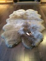 Brand new Brown sheep skin rug. Open to offers. Very comfortable