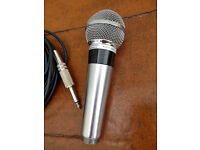 Vintage Shure 565 Unisphere 1 Dynamic Microphone *Very good condition* + 5m 4-pin cable