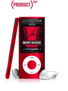 Apple IPod nano 5th Generation Product (Red)