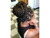 PROFESSIONAL BOXBRAIDS TWISTS CORNROWS CROCHETBRAIDS FAUXLOCKS WEAVES WIG FROM £40
