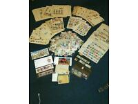 Huge job lot of stamps - house clearance - old vintage