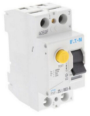 """Eaton PXF-25/2/003-A FI-Schutzschalter 25A 2-polig 30mA 236744 """"Neu"""""""