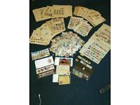 Stamp collection job lot