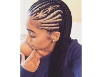 Afro hair/ European hair