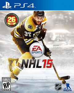 NHL15 for PS4 for sale