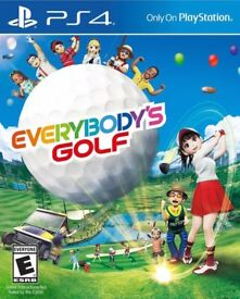 Ps4 golf game , new ..
