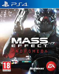 PS4 Mass Effect Andromeda for PS4 Tom clancy's wildlands