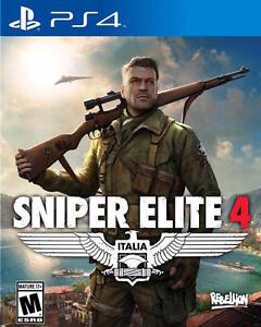 Look for a ps4 game Sniper Elite 4