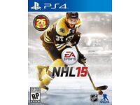 NHL 15 PS4 GAME - PERFECT CONDITION
