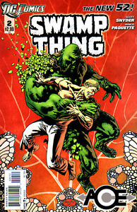 SWAMP THING #2 - 2nd Print - New 52 - New Bagged
