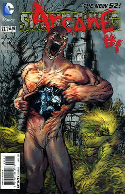 DC NEW 52 SWAMP THING #23.1 COMIC 3D MOTION COVER ARCANE