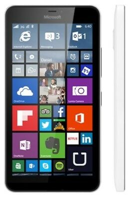 MICROSOFT LUMIA 640 XL RM-1063 AT&T UNLOCKED 4G LTE SMARTPHONE WHITE NEW OTHER
