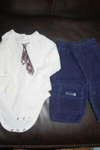 pants and onsie/diaper shirt 3-6 months London Ontario image 1