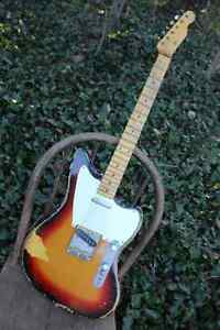 MJT custom telemaster relic with hsc, Don Mare pickups