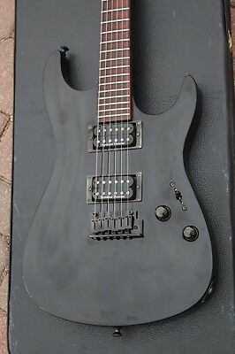 Fender Showmaster BLACKOUT HH Electric Guitar USA Seymour Duncans Includes Case