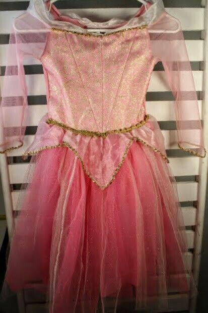 Disney Store Princess Pink Dress Up Costume Dress Small (4 - 6)