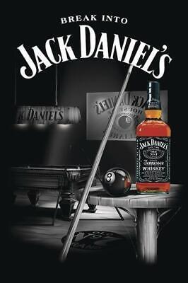 Jack Daniel's Poster Pool 61 x 91,5 cm Bar Plakat Whiskey Whisky Lounge Wandbild