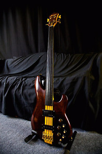 Ibanez MC940 Fretless 1982 bass -Rare – Crafted in Japan – All O