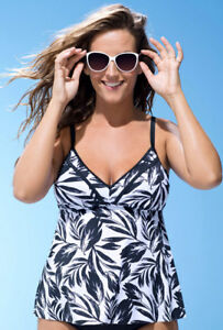 Tankini Swim Top - Size 10 - Brand New - $30