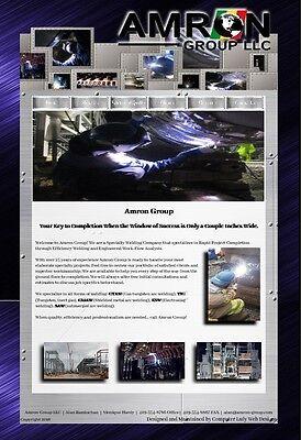 Website Design  100  1 Pg  Site W  Google Pge  Fb Pg  Yp Pg    Video Commericial