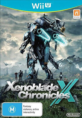 Xenoblade Chronicles X (Wii U)  BRAND NEW BUT UNSEALED - IMPORT - QUICK DISPATCH