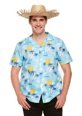 aribik Südsee Party Fasching Kostüm Palmen Karneval Strand (Herren Hawaii Kostüm)