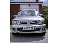 Nissan Micra 52 plate