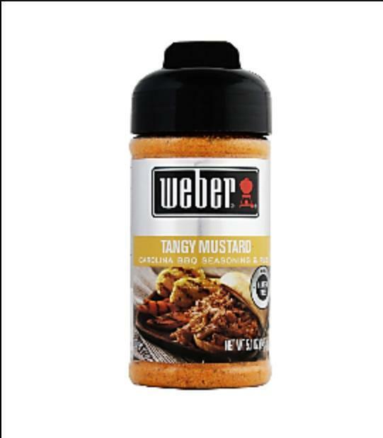 Weber Seasoning Tangy Mustard SHELF PULL OVERSTOCK SALE