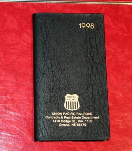 UNION PACIFIC RAILROAD UPRR 1998 POCKET WEEKLY CALENDAR PLANNER
