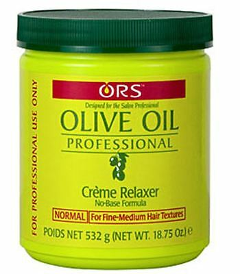 Organic Root Stimulator Olive Oil Creme Relaxer Normal, 18.75 oz