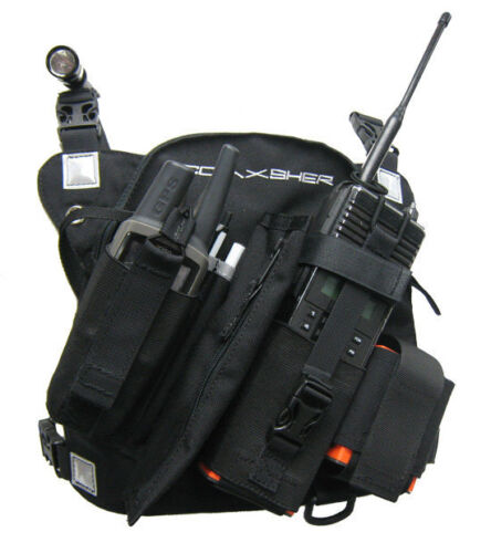 Coaxsher RCP-1 Pro Radio Chest Harness - New!