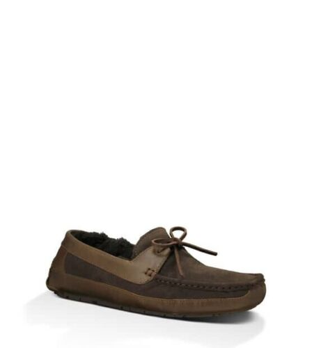 UGG Mens Byron Mens Driver - Slippers Size 11 Cappuccino NWB