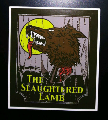 STICKER - The Slaughtered Lamb - HORROR movie - An American Werewolf in London