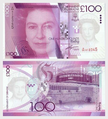 Gibraltar - 2011 £100 Banknote (UNC)