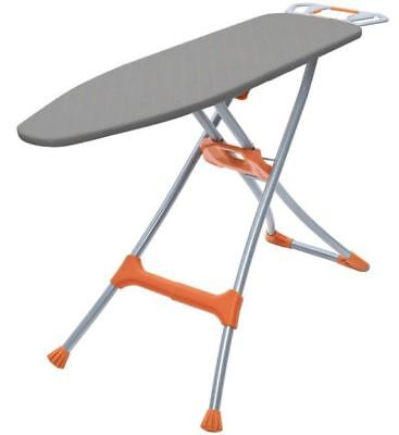 Collapsible Metal Ironing Board Adjustable Height Garment Hanger Iron Rest