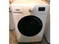White whirlpool 8kg super slient washing machine