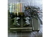 Sony PS3 (60GB) CECH03 Model, 4gamers V-Stand, 2 controllers and DVD Bundle - OFFERS