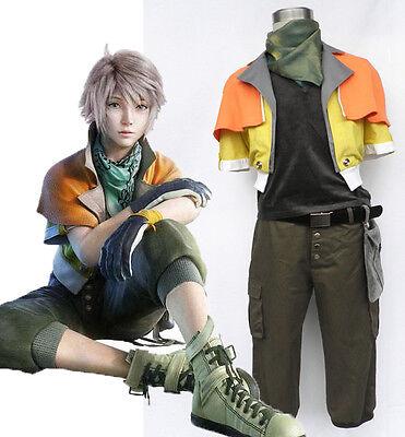 FF-XIII Final Fantasy FF XIII 13 Cosplay Kostüm costume Hope Estheim full - Hope Estheim Kostüm