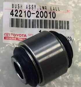 Genuine Toyota BUSH ASSY, LWR BALL 42210-20010