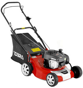 COBRA M46B PETROL LAWN MOWER 46CM WITH BRIGGS AND STRATTON ENGINE - IN STOCK
