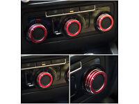 Volkswagen Golf MK6 GTI aluminum alloy AC knobs