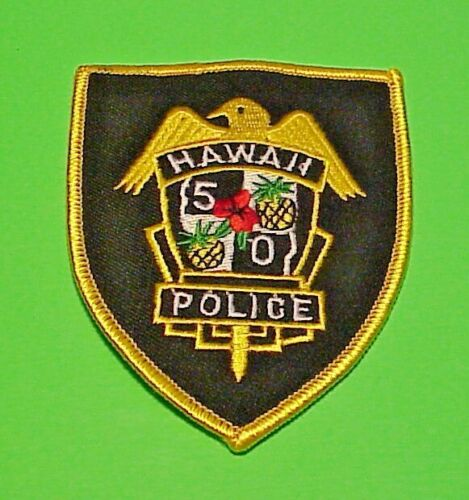"""HAWAII 50   4""""  POLICE  PATCH  FREE SHIPPING!!!"""