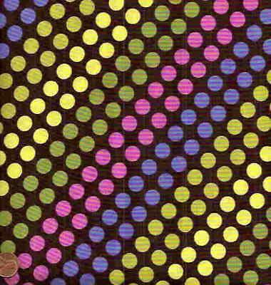Diagonal Dots (Diagonal Candy Dot Michael Miller fabric)