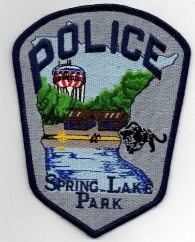 MINNESOTA MN SPRING LAKE PARK POLICE NICE PATCH SHERIFF