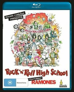 *BRAND NEW & SEALED* Rock And Roll High School (Blu-ray Movie 1979) Feat Ramones