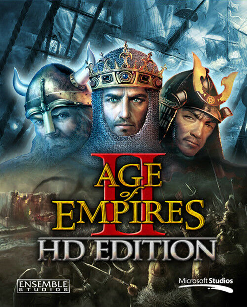 Age of Empires 2 II HD Edition PC Steam Digital Download No Key Code Region Free