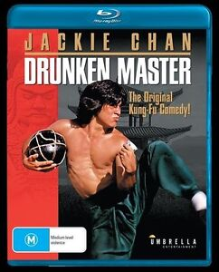 Drunken Master (Blu-ray) ACTION [All Regions] NEW/SEALED Jackie Chan